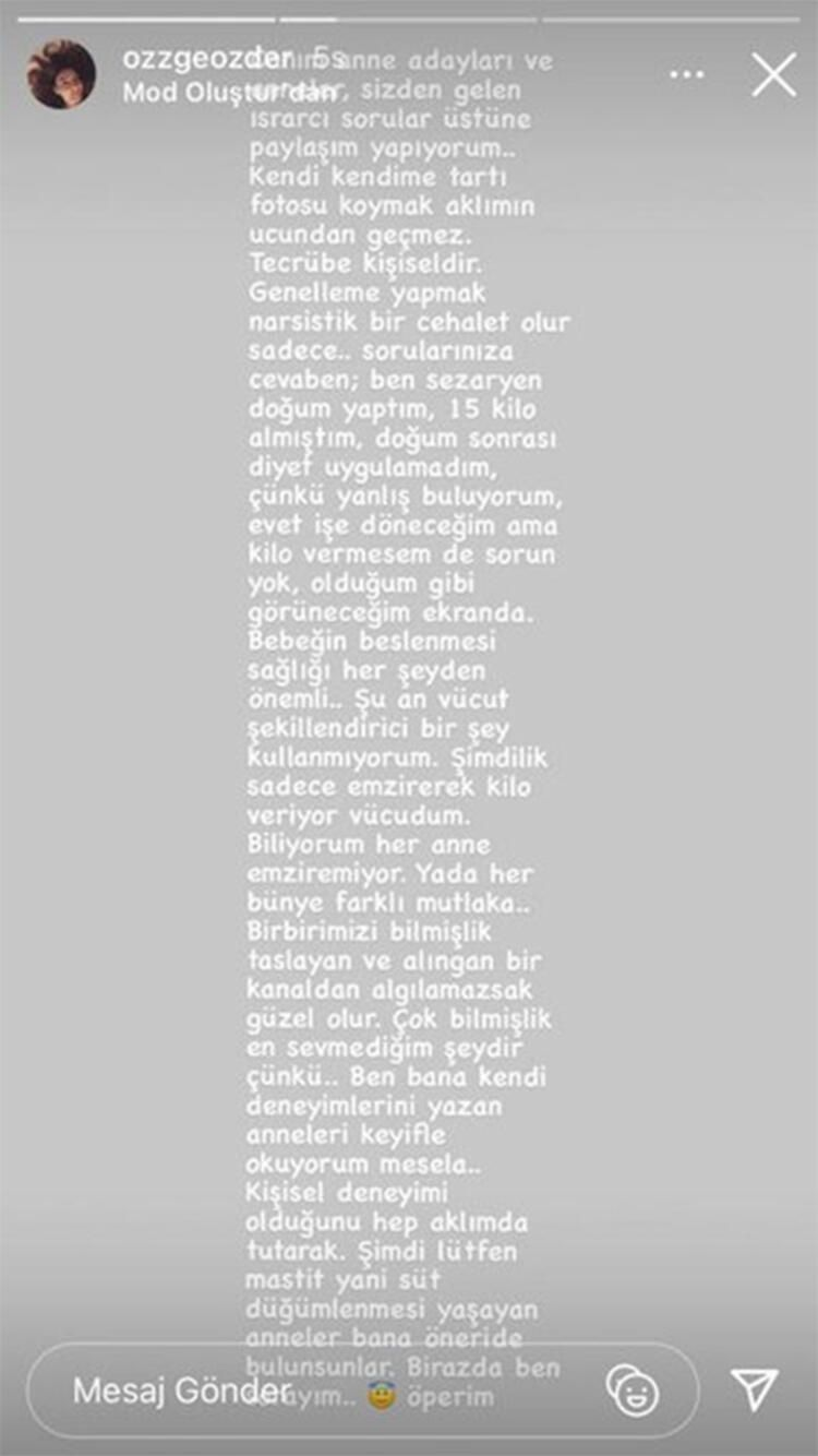 Özge Özder'den annelere tavsiye: Rejim yapmayın, emzirin! - Sayfa:4