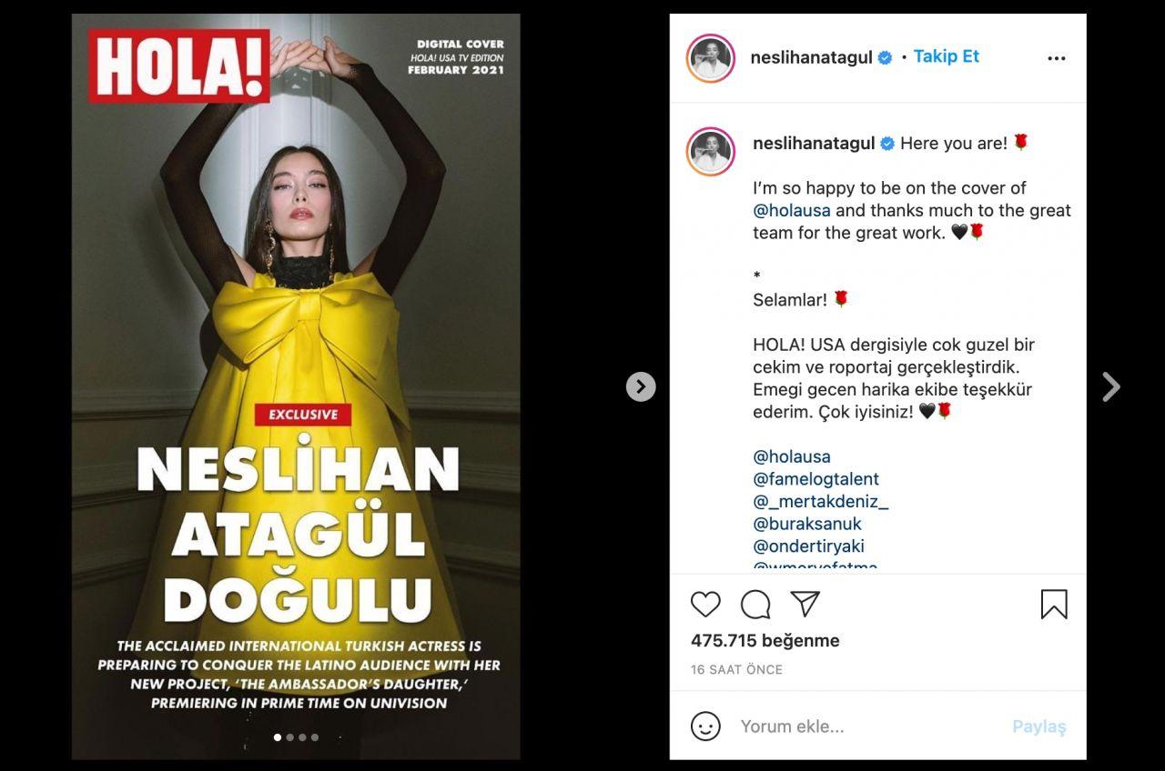 Neslihan Atagül dünyaca ünlü dergiye kapak oldu! - Sayfa:4