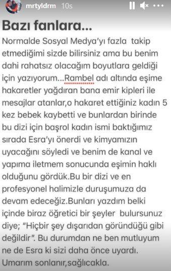 Murat Yıldırım'dan eşiyle ilgili uyarı! - Sayfa:3