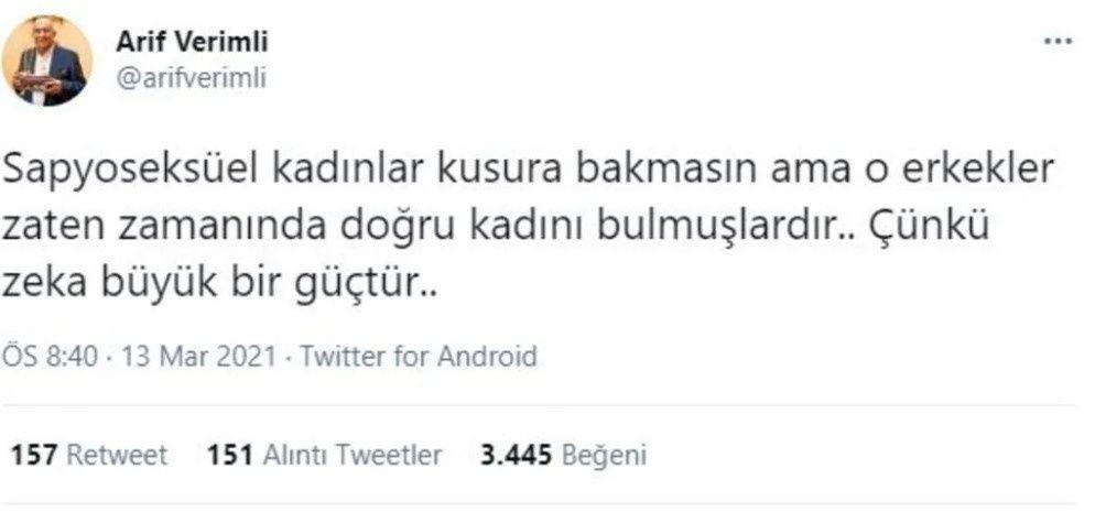 Arif Verimli'den Hülya Avşar'a sapyoseksüel göndermesi! - Sayfa:4
