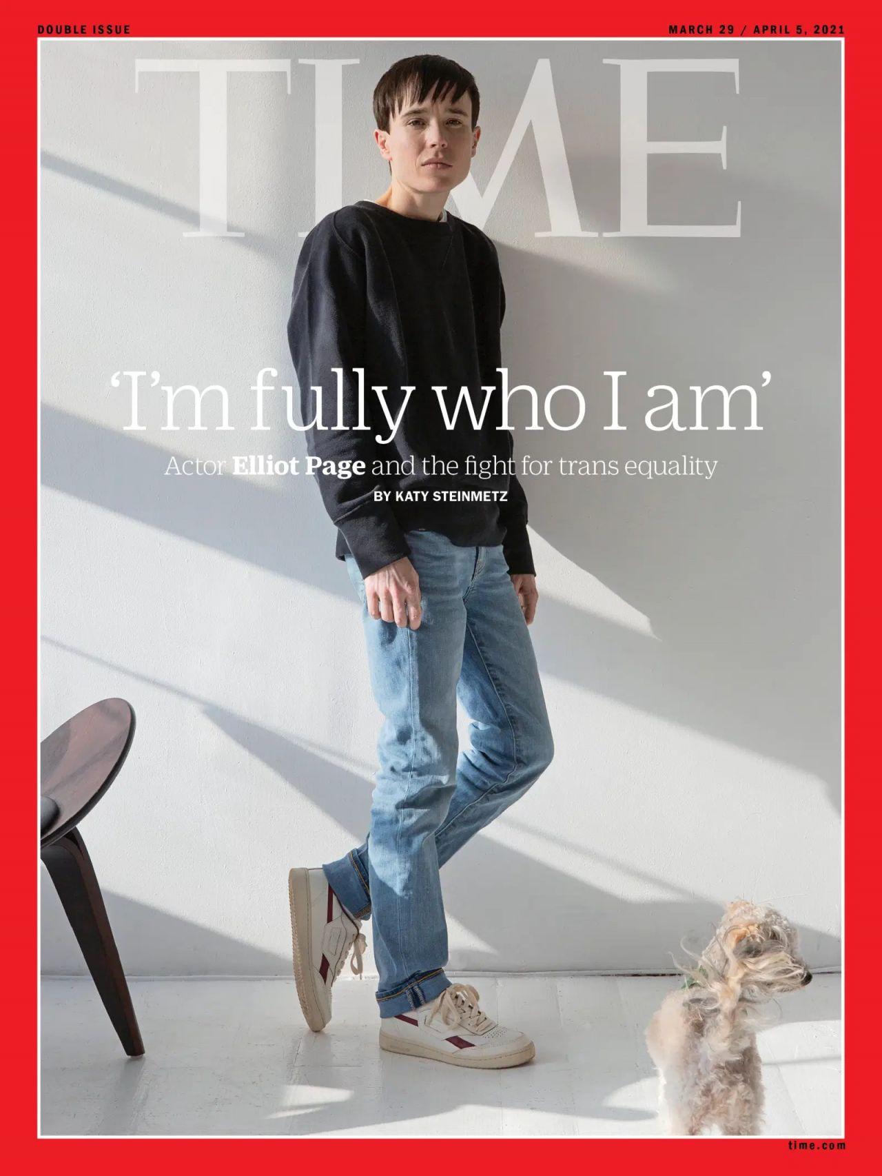 Time kapağındaki ilk trans erkek! Elliot Page: Artık hissettiğim gibiyim - Sayfa:2