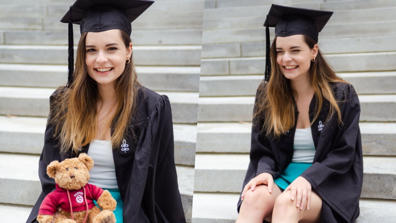Ece Hakim Harvard'dan yüksek derece ile mezun oldu - Sayfa:1
