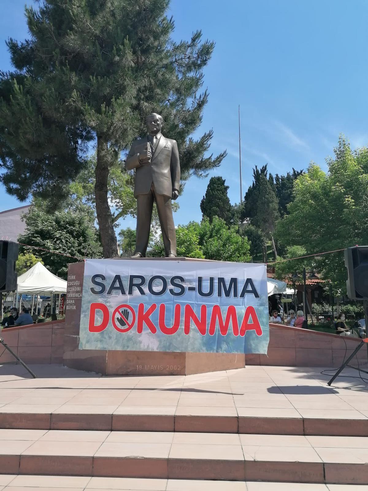 Saros dayanışması büyüyor... Gelibolu'da Saros için eylem! - Sayfa:2