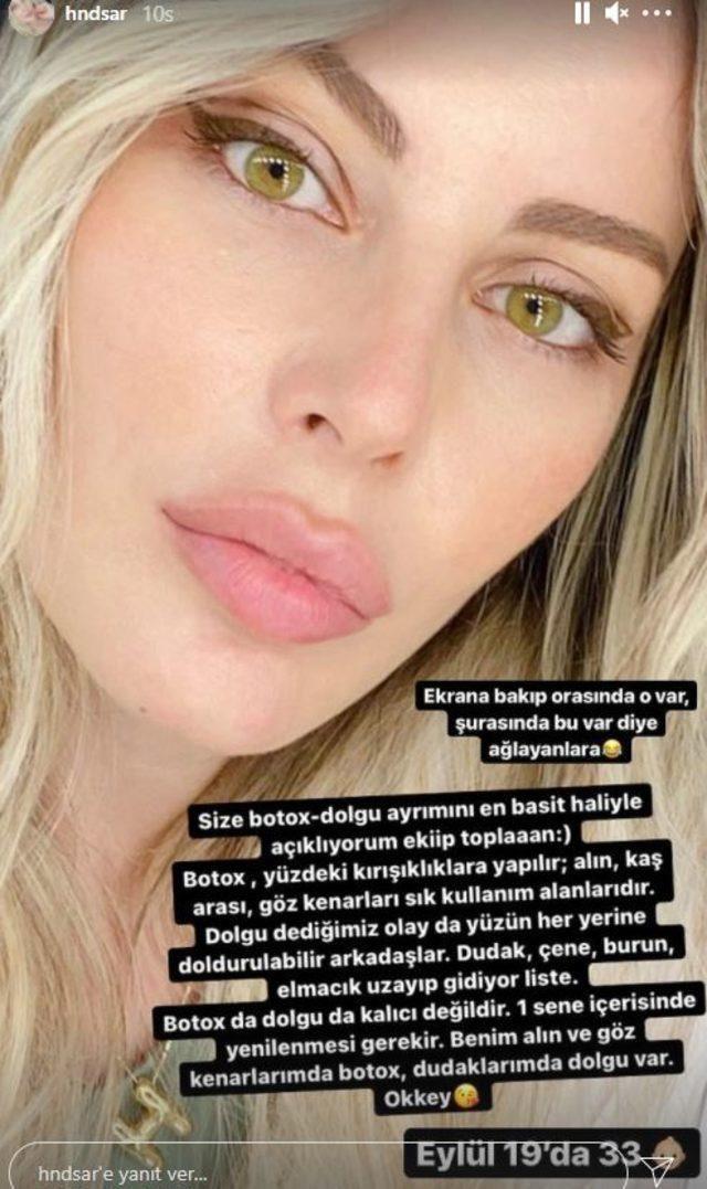 Ünlü spiker Hande Sarıoğlu'dan estetik itirafı! Eski hali herkesi şaşırttı… - Sayfa:4