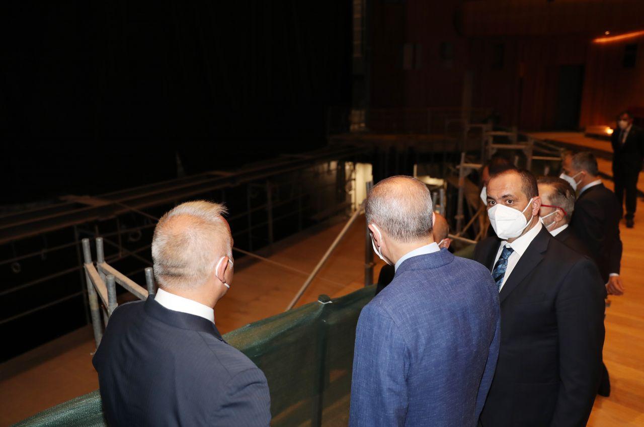 Cumhurbaşkanı Erdoğan, AKM'de incelemelerde bulundu - Sayfa:3