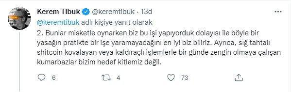 BtcTurk'un kurucusu Kerem Tibuk'tan iddialara sert tepki: Sahtekarın teki... - Sayfa:3