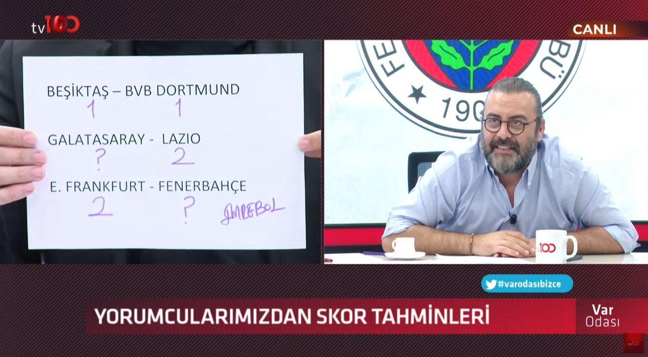 Ertem Şener'in Beşiktaş tahmini taraftarı kızdırdı - Sayfa:3