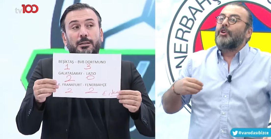 Ertem Şener'in Beşiktaş tahmini taraftarı kızdırdı - Sayfa:1