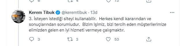 BtcTurk'un kurucusu Kerem Tibuk'tan iddialara sert tepki: Sahtekarın teki... - Sayfa:4
