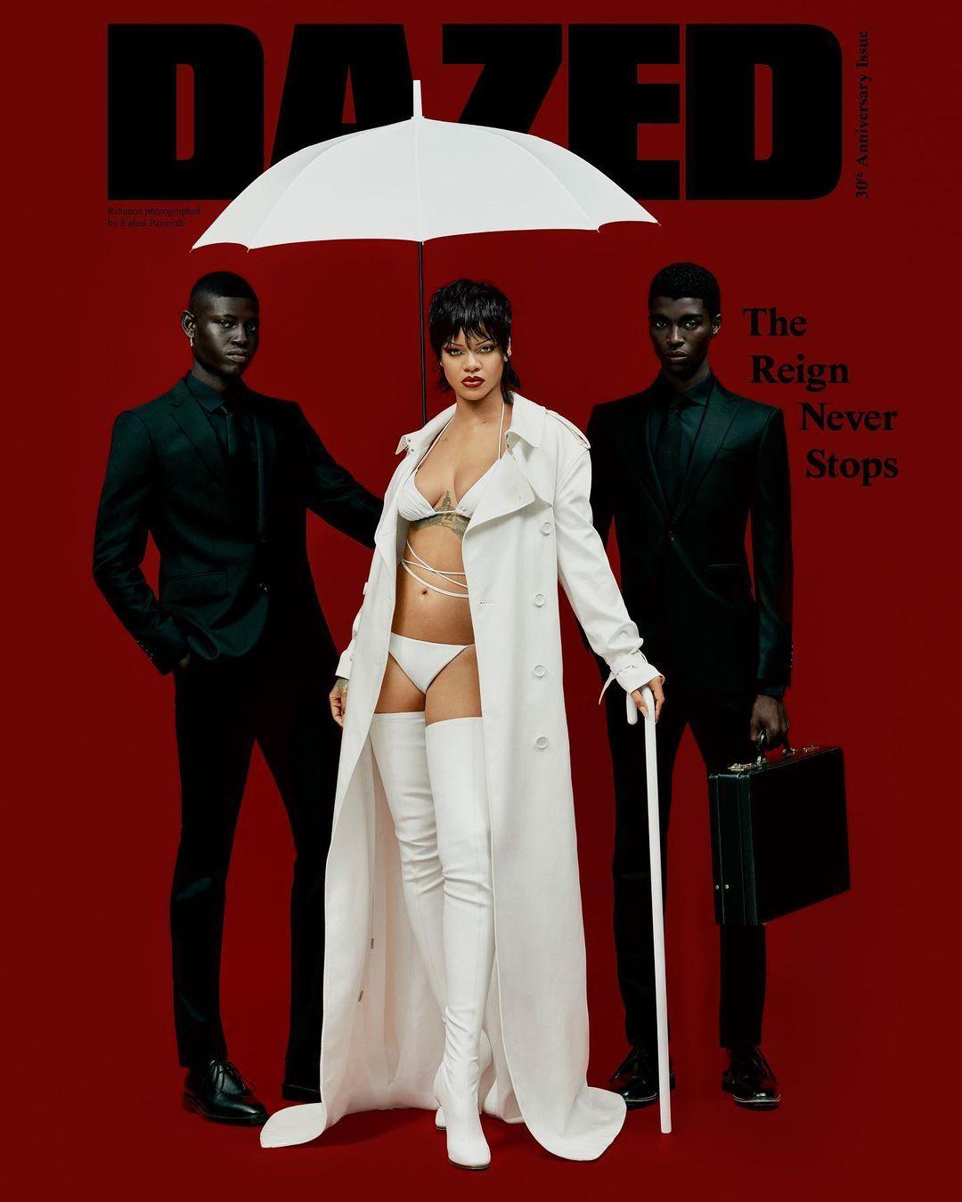 Rihanna'nın altın çağı! Kendisine özel tasarımlarla şov yaptı - Sayfa:4