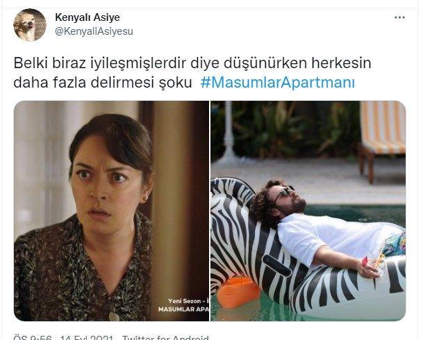 Türkiye salı gecesi Masumlar Apartmanı'na kilitlendi! Sosyal medyada Masumlar Apartmanı 1. bölümünden bu paylaşımlar yapıldı - Sayfa:4