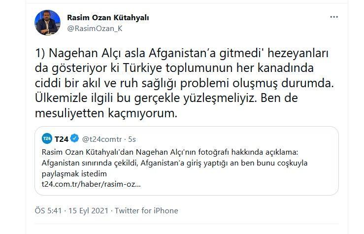 Rasim Ozan Kütahyalı'dan Nagehan Alçı ile ilgili çok tartışılacak paylaşımlar... İç savaş uyarısı yaptı, Alçı'yı örnek gösterdi - Sayfa:2
