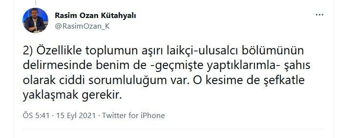 Rasim Ozan Kütahyalı'dan Nagehan Alçı ile ilgili çok tartışılacak paylaşımlar... İç savaş uyarısı yaptı, Alçı'yı örnek gösterdi - Sayfa:3