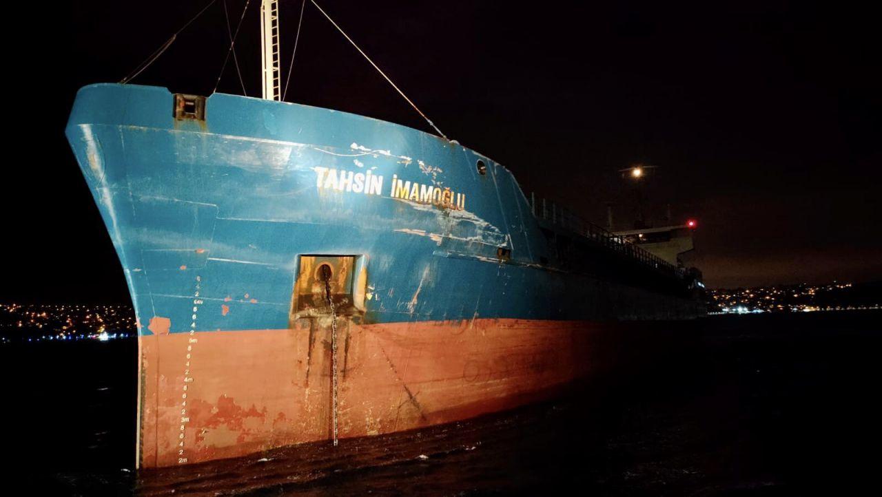 #sondakika İstanbul Boğazı'nda korku dolu anlar... İstanbul Boğazı'nda 2 kuru yük gemisi çarpıştı - Sayfa:3