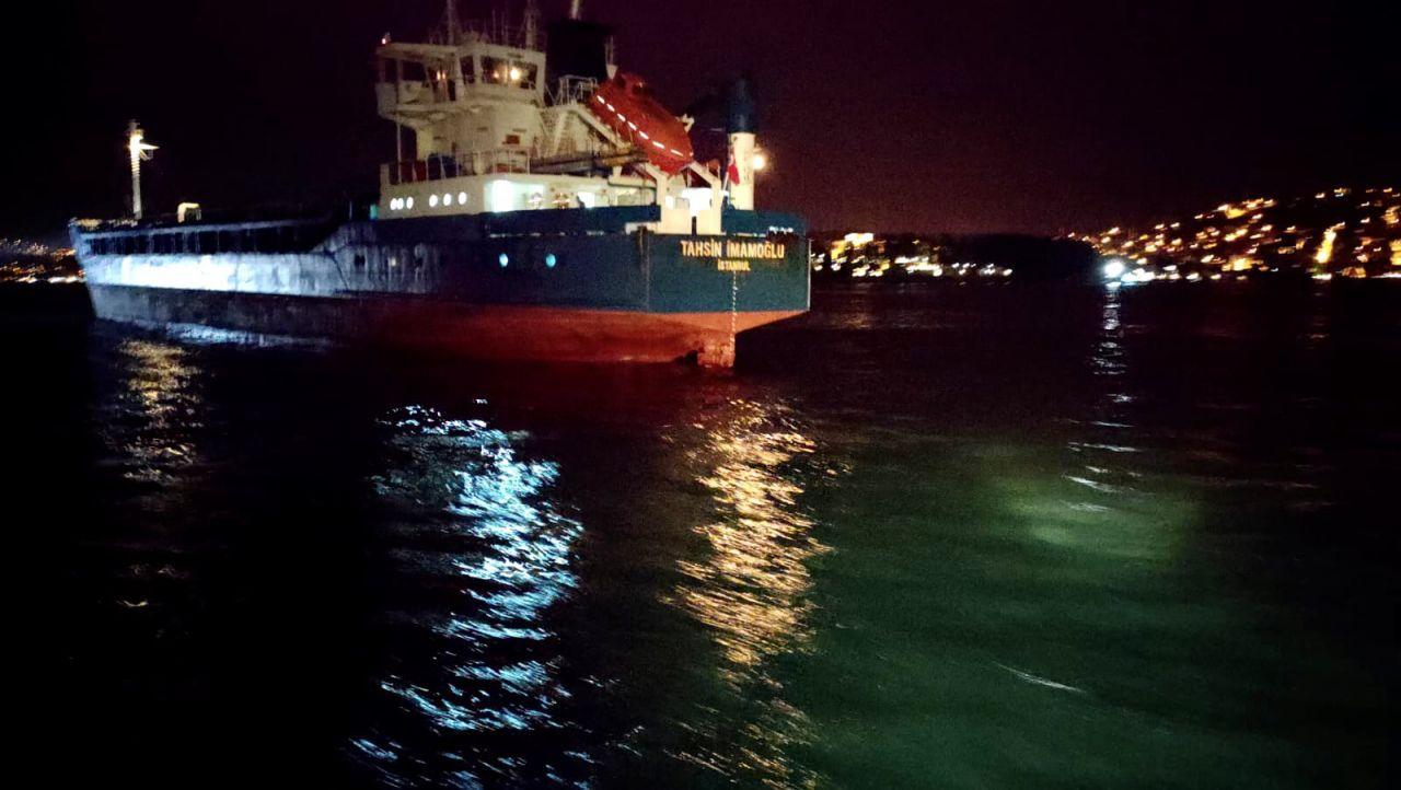 #sondakika İstanbul Boğazı'nda korku dolu anlar... İstanbul Boğazı'nda 2 kuru yük gemisi çarpıştı - Sayfa:1