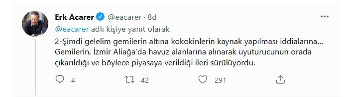 Sedat Peker'in tweetlerini paylaşan Erk Acarer'den yeni bomba paylaşımlar... Binali Yıldırım ve oğlu Erkam Yıldırım'ı hedef aldı - Sayfa:2