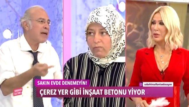 Seda Sayan'ın programına katılıp canlı yayında moloz yiyen kadını görenler şaştı kaldı! 23 yıl önce hamileyken toprak yemeye başlamış - Sayfa:1
