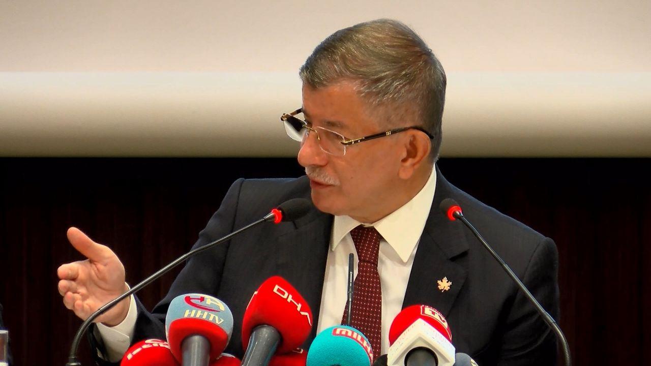Ahmet Davutoğlu, Kürt sorunu tartışmasına değindi; muhatabın kim olduğunu açıkladı - Sayfa:1