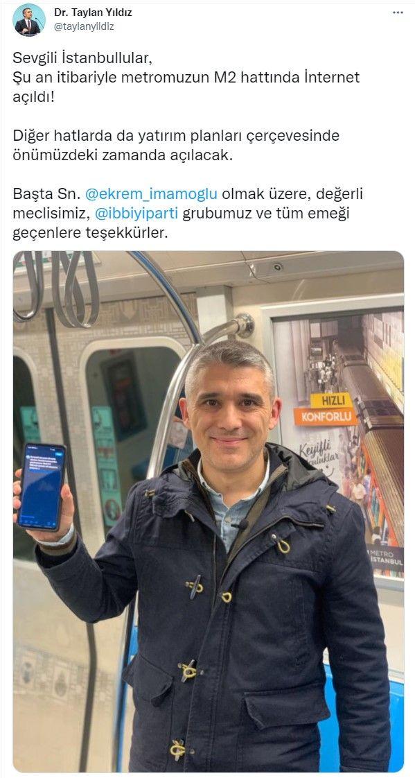 İstanbulluya müjde! Metroya internet erişimi geldi: İşte detaylar... - Sayfa:4