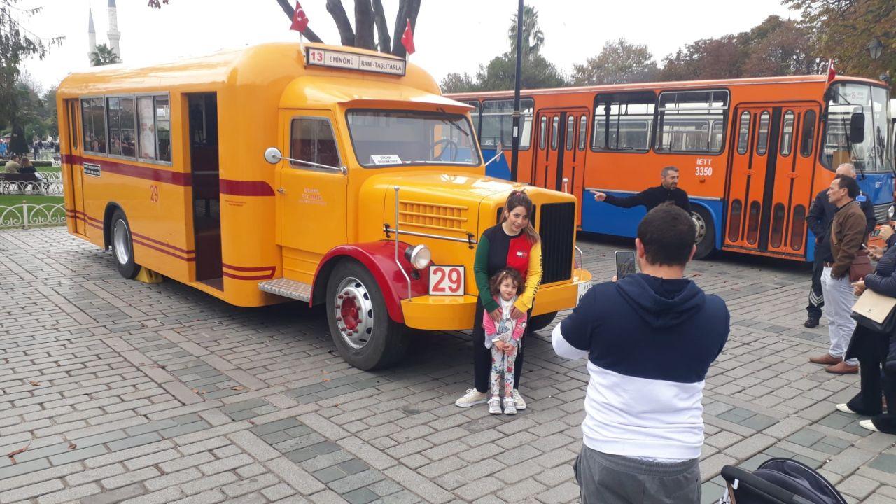 Sultanahmet'te kamyondan dönüştürülen nostaljik otobüse ilgi - Sayfa:2