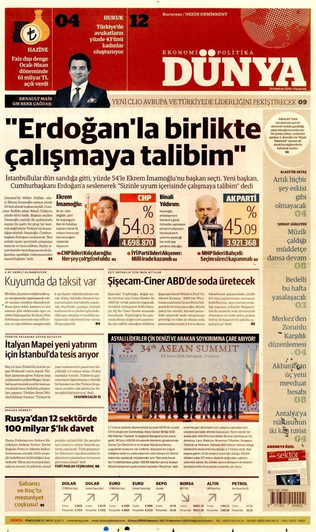 Ekrem İmamoğlu'nun tarihi zaferini gazeteler nasıl gördü? - Sayfa:3