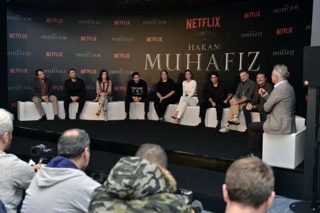 Netflix'in ilk Türk orijinal dizisi Hakan: Muhafız basına tanıtıldı - Sayfa:4
