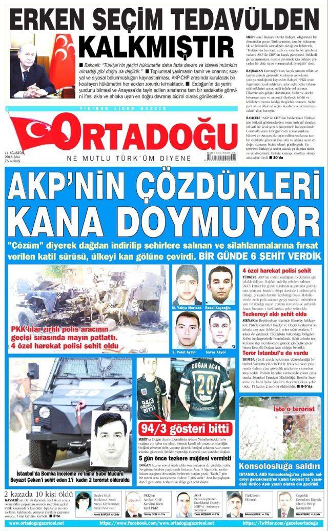 Manşetler de kana bulandı - Sayfa:4