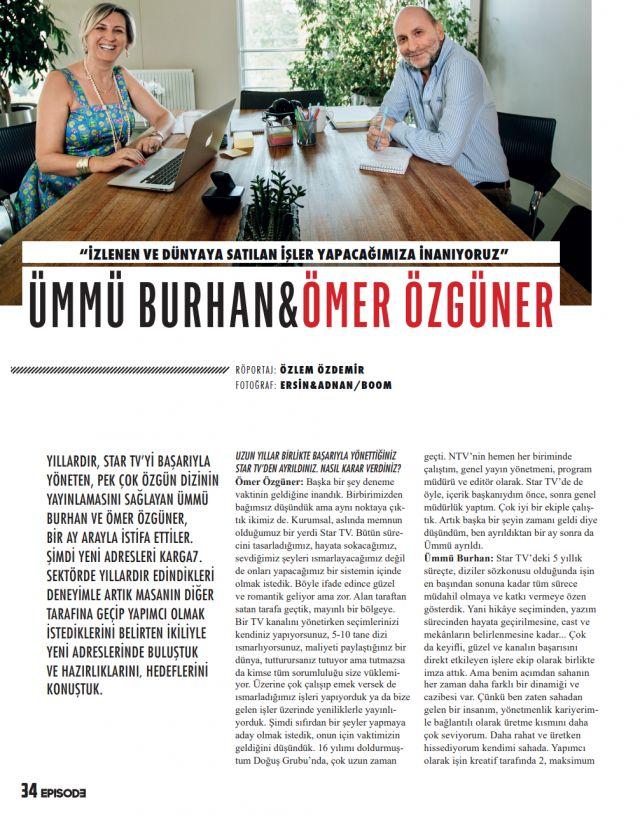 Star TV'den istifa eden Ömer Özgüner'den '90'lar' sürprizi! - Sayfa:1