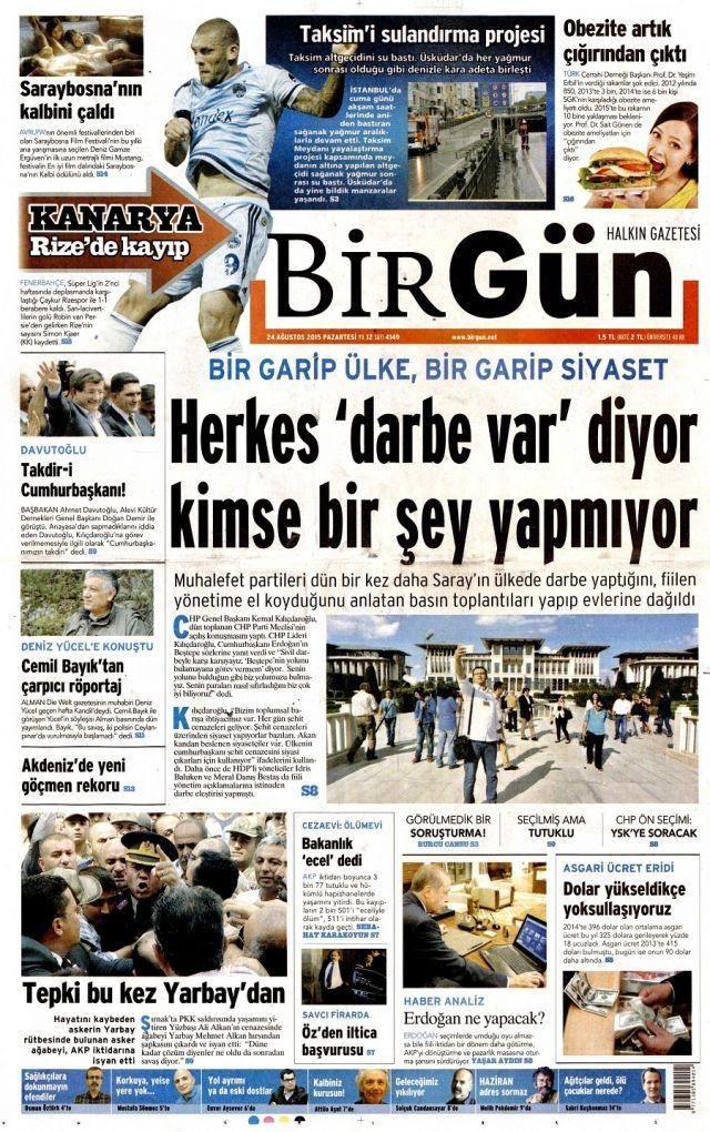 Yarbay Mehmet Alkan'ın isyanını hangi gazeteler görmedi? - Sayfa:2