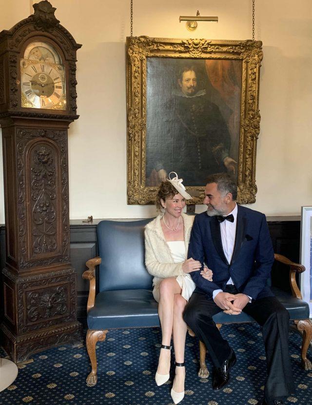 İnci Türkay ve Atilla Saral nikahından kareler - Sayfa:3