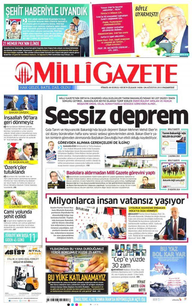 Yarbay Mehmet Alkan'ın isyanını hangi gazeteler görmedi? - Sayfa:3
