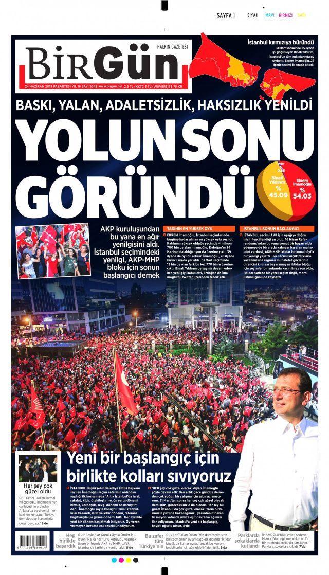 Ekrem İmamoğlu'nun tarihi zaferini gazeteler nasıl gördü? - Sayfa:2