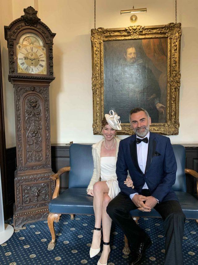 İnci Türkay ve Atilla Saral nikahından kareler - Sayfa:2