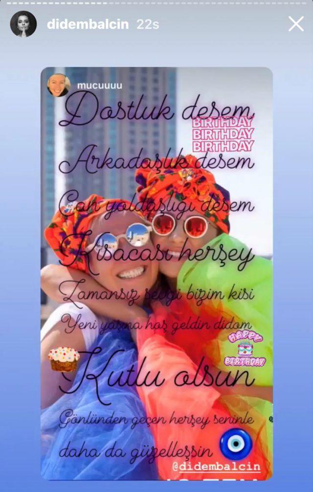 Didem Balçın'ın doğum günü kutlamasından kareler - Sayfa:1